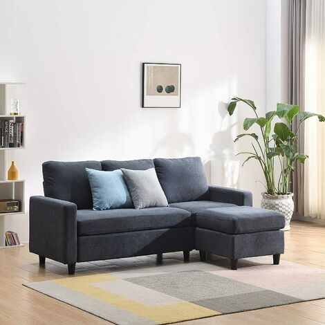 """main image of """"Cherry Tree Furniture Campbell 3 Seater Sofa with Reversible Chaise"""""""
