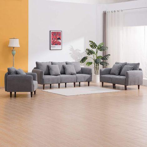 Cherry Tree Furniture Jasper Suede Effect Suedette Sofa range