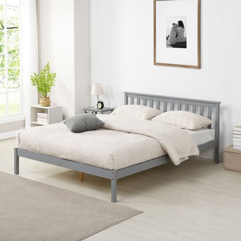 Cherry Tree Furniture Linnelle FSC Certified Solid Wood Bed Frame