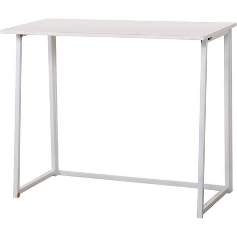 Cherry Tree Furniture Ordinateur de bureau compact pliable Table de bureau pour ordinateur portable