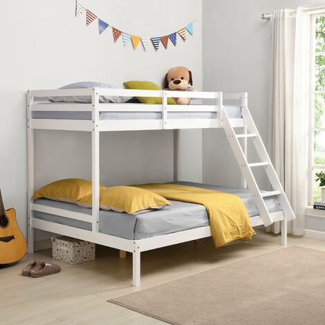 Cherry Tree Furniture Sunnybrook FSC Certified Solid Wood Triple Bunk bed in White