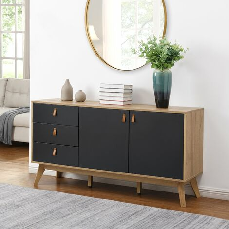 Cherry Tree Furniture Tallis Two Tone Sideboard with 2 doors and 3 drawers