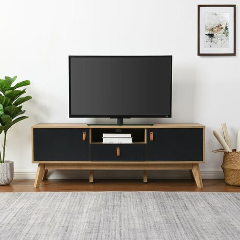 Cherry Tree Furniture Tallis Two Tone TV Unit with 2 doors and 1 drawer
