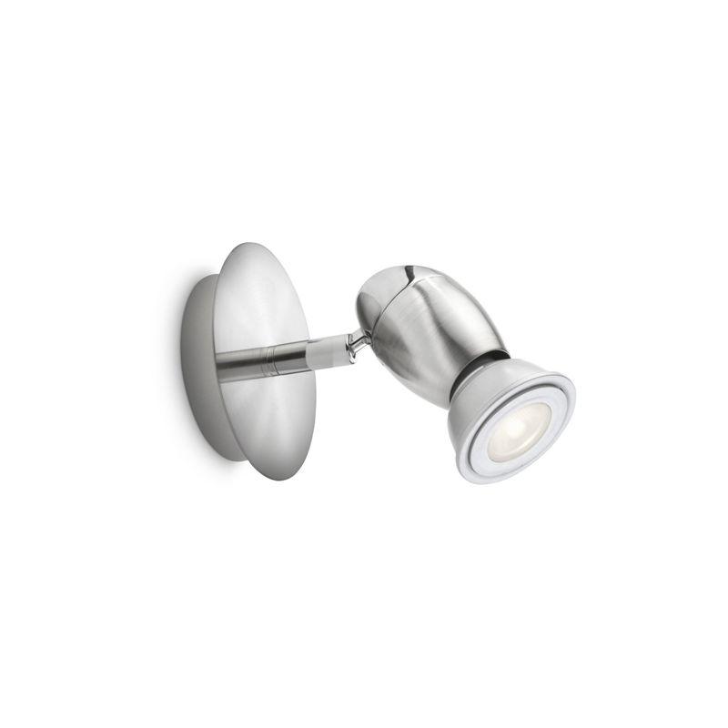 Chestnut Chestnut - Spot singolo LED acciaio spazzolato max 50 W