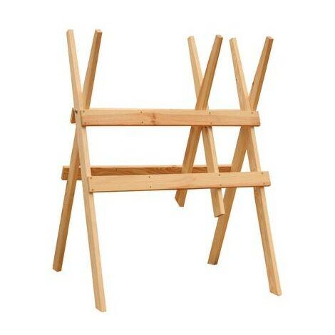 Chevalet de sciage en bois