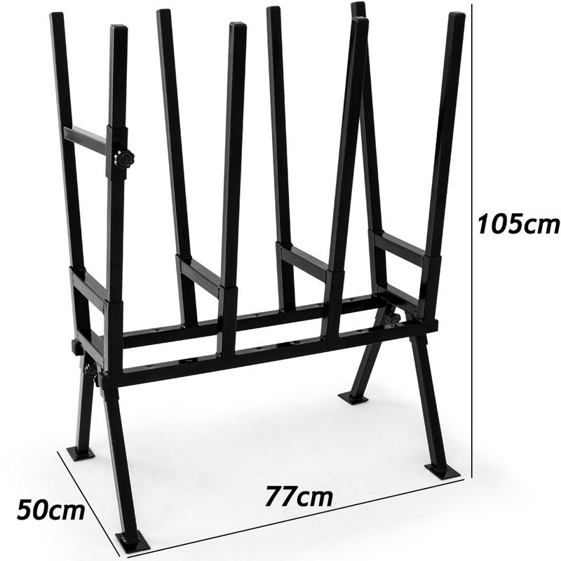 en acier et r/églable avec support de fixation Chevalet de sciage pour bois