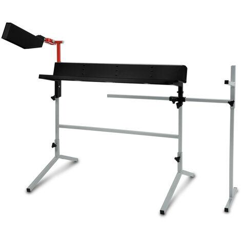 Chevalet pour sciage de buches avec support tronconneuse (Gabarit universel, 1750 mm Longueur du tronc, 320 mm Diamètre du tronc)