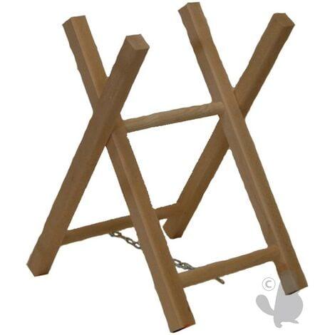 Chevalet tronçonnage bois 2 trétaux