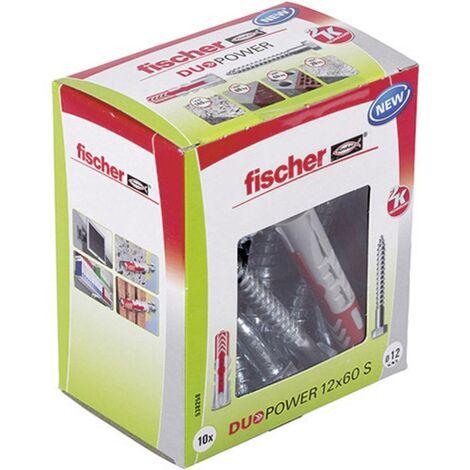 Cheville 2 éléments Fischer 538258 60 mm 12 mm 10 pc(s)