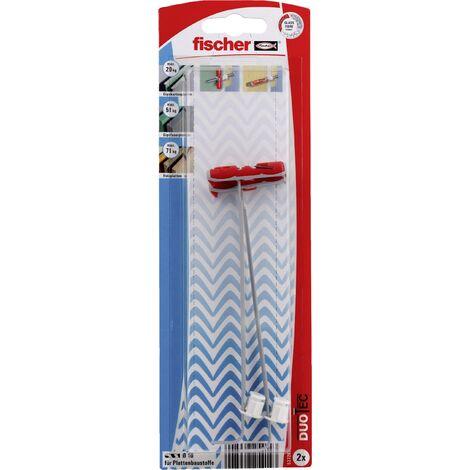 Cheville à bascule 10 mm 2 pc(s) Fischer DUOTEC 10 K 537265 S026511