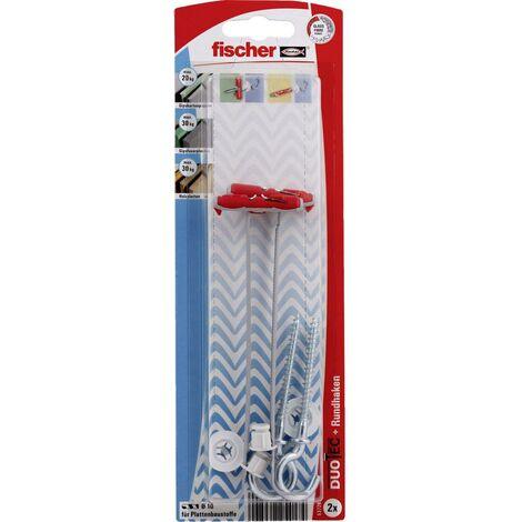 Cheville à bascule 47 mm 10 mm 2 pc(s) Fischer DUOTEC 10 RH K 537268