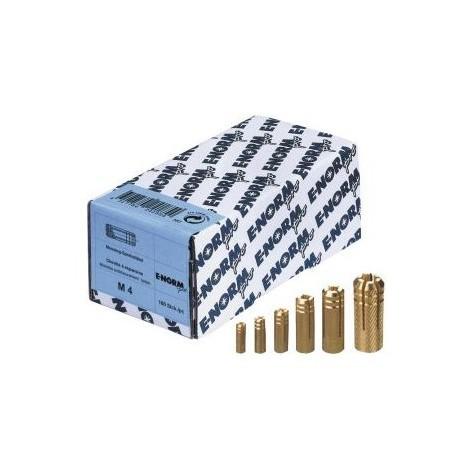 Cheville laiton MS M 6 E-NORMpro (Par 100)