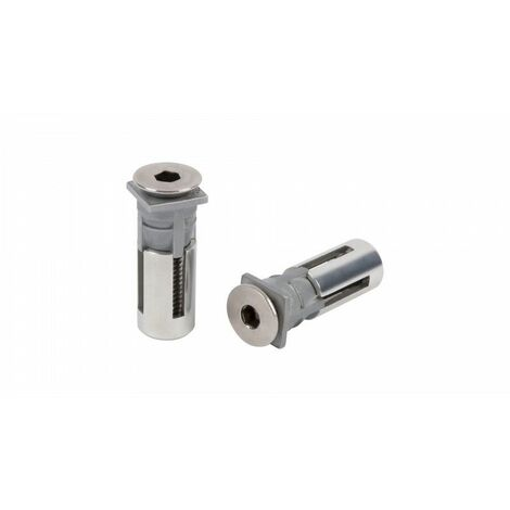Cheville Quick-fix -QF5 LOCINOX pour le métal - Root > Accueil > Serrurerie > Serrure de grille, portail et porte de garage