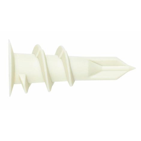 Cheville Zamak pour plaques de plâtre et brique avec vis DIN 7981 - Boite de 100 13x32