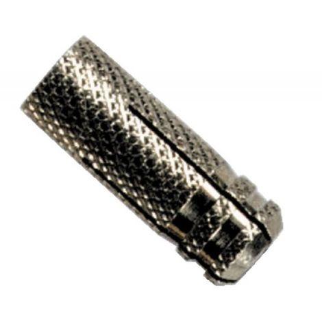 Chevilles laiton RAWLCAP RC, diamètre taraudage 8 mm, longueur 30 mm, pour vis métaux diamètre 10 mm, longueur 30 mm, boîte de 1