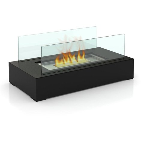 Chic Bio Ethanol Fireplace for Indoor or Outdoor use