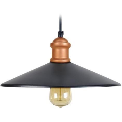 40w Ampoule Cm Suspension Led Incluse Vintage E27 ø 33 H 80