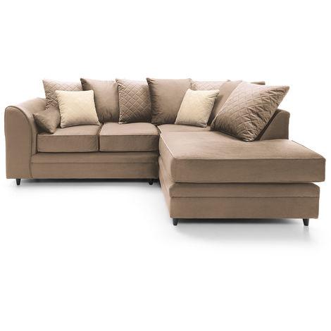 Chicago Velvet Corner Sofa