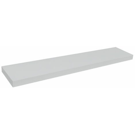 CHICAGO - Wall Mounted 100cm Floating Chunky Shelf - White
