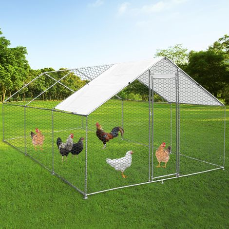 Chicken Run 4m x 6m x 2m