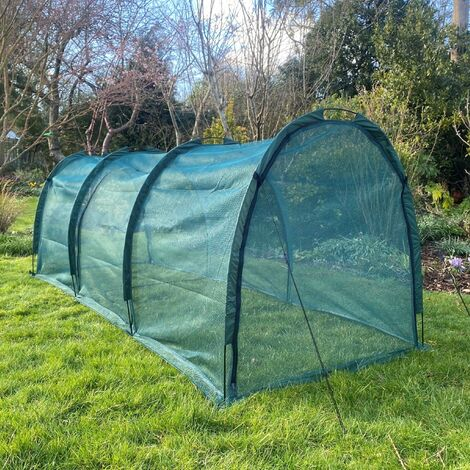 """main image of """"Chicken Run Hen House & Pet Protection Tunnel – 3m long x 1.5m wide x 1.5m high"""""""
