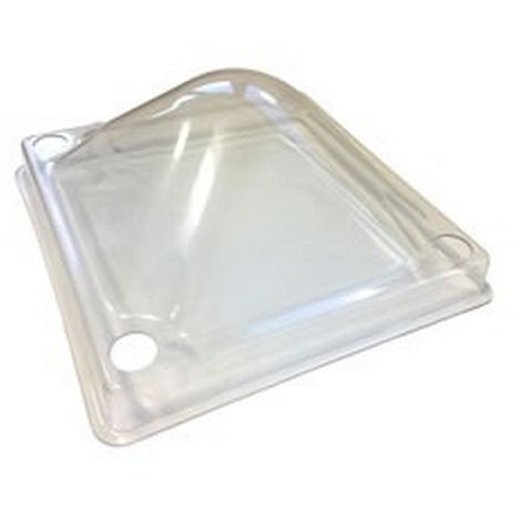 """main image of """"Chicktec Comfort Clear Plastic Dome Cover (40cm) (Clear)"""""""