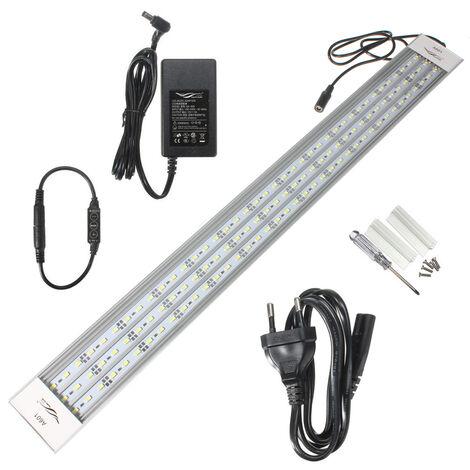 Chihiros A601 39W 60cm 117 Lámpara LED 5730 SMD 5800lm Blanco Acuario AC 100-240VEU SOCKET