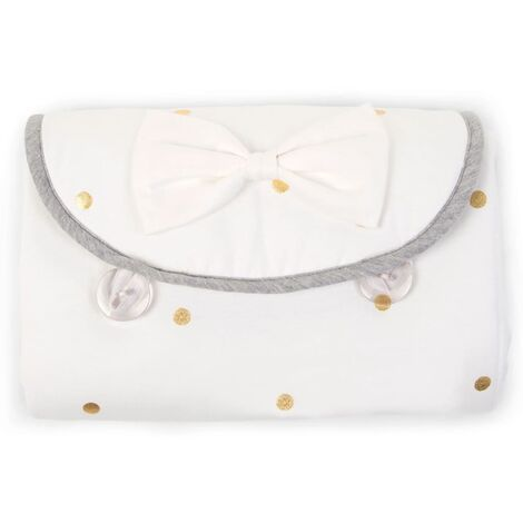 CHILDHOME Changing Mat Angel Jersey Gold Dots