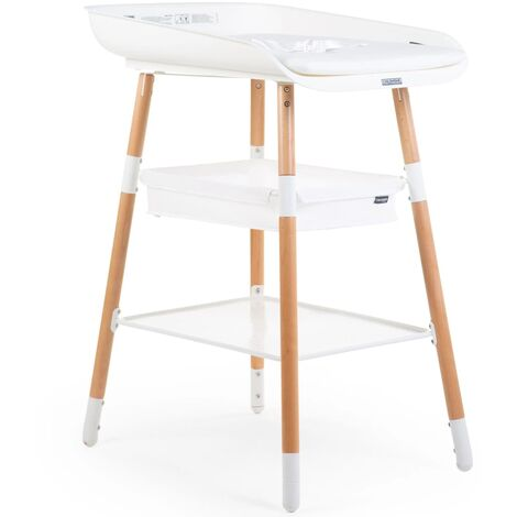 CHILDHOME Changing Table Evolux White Natural