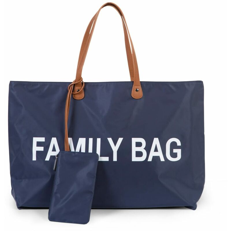 Image of Diaper Bag Family Bag Navy Blue - Blue - Childhome