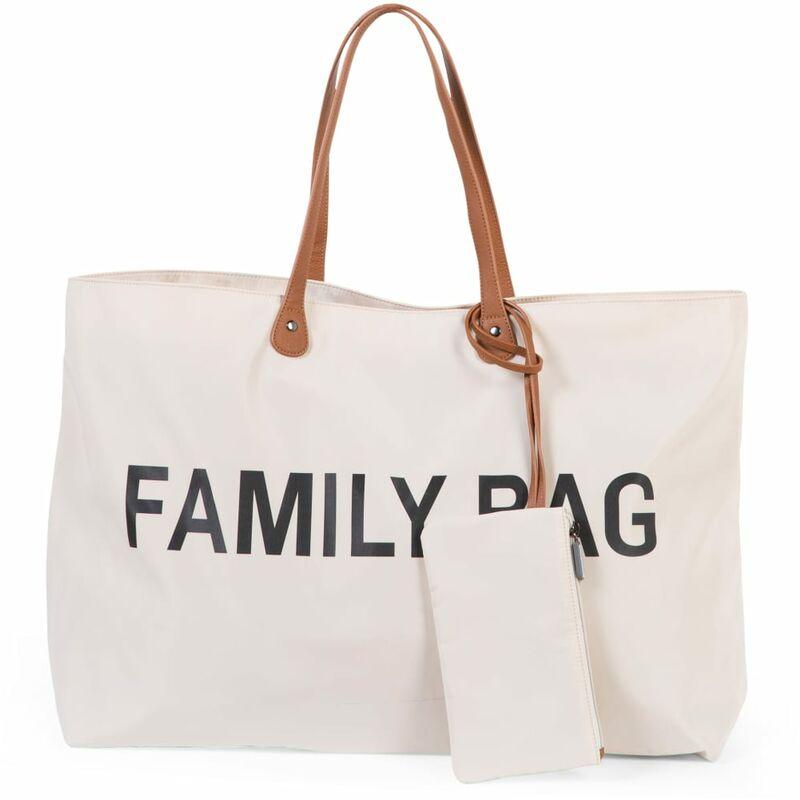 Image of Diaper Bag Family Bag Off White - White - Childhome