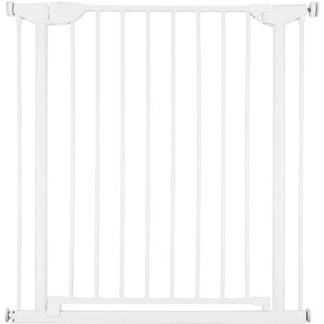 CHILDHOME Safety Gate Eltra 75-81 cm Metal White