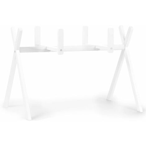 CHILDHOME Tipi Moses Basket Stand Play & Gym White - White