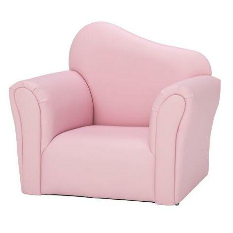 "main image of ""Children Single Sofa Kids Sofa Chair Bent Back -Blue - Blue"""