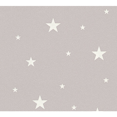 Children wallpaper wall Profhome 324402-GU non-woven wallpaper textured matt brown 5.33 m2 (57 ft2)