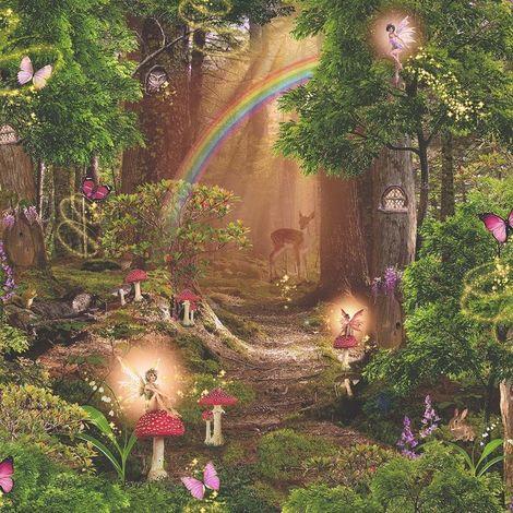 "main image of ""Arthouse Imagine Fun Wallpaper Magic Garden Multi 696009"""