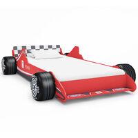 Children's Race Car Bed 90x200 cm Red
