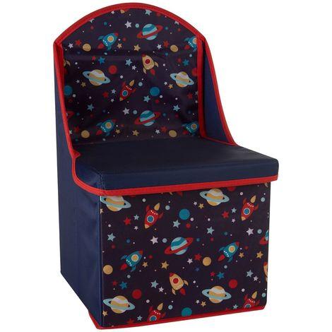 Children'S storage box/seat,medium-density fibreboard / polyester