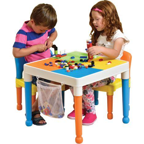 Childrens Table & Chair Set (Orange)