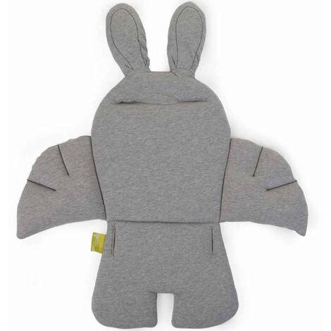 CHILDWOOD Cojín de asiento para trona universal conejo gris CCRASCJG