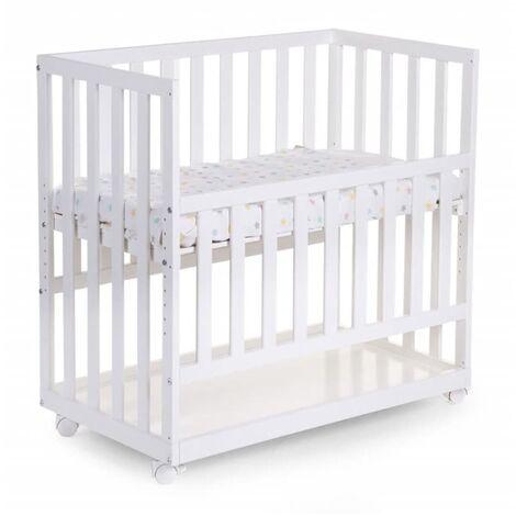 CHILDWOOD Madera de Haya Cuna 50x90 cm Blanco