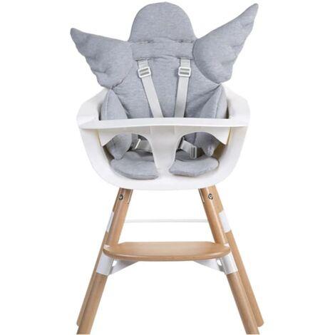 Kombihochstuhl Baby Holzhochstuhl Kinder mit einstellbares Esstischchen COSTWAY Babyhochstuhl Holz Kinderhochstuhl Treppenhochstuhl Beige