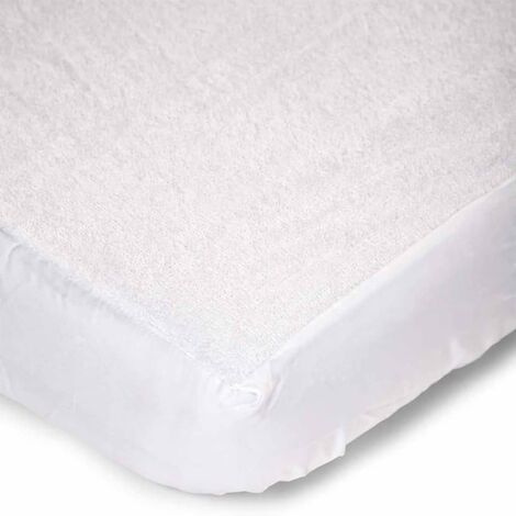 CHILDWOOD Waterproof Children's Mattress Cover Soft Terry Mattress Protector Topper Cover Bedroom Toddler Bed Accessories Multi Sizes