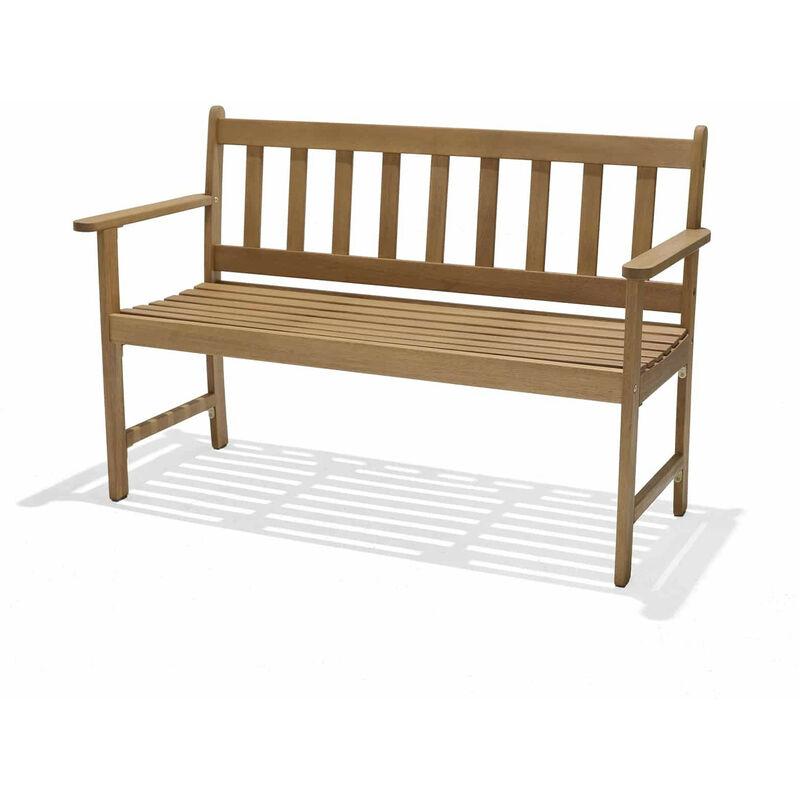 Chillvert Gartenbank Milán 2 Sitzplätze Holz 51,9 cm x 118 cm,5X79,9
