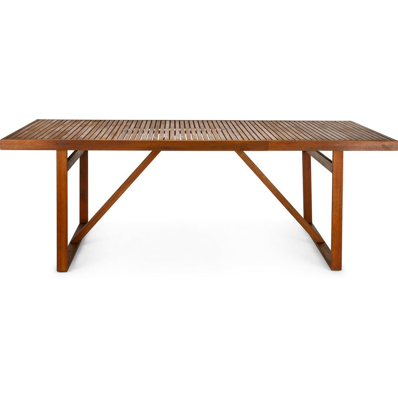 Chillvert Gartentisch Newbury Holz 220 cm x 100 cm x 76 cm