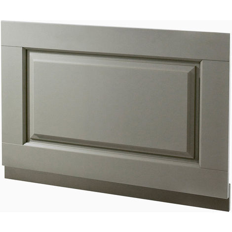 CHILTERN Stone Grey Traditional 780mm Bath End Panel + Plinth
