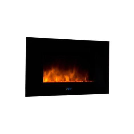 Chimenea eléctrica eléctronica con calefactor y efecto fuego