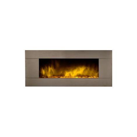 """Chimenea eléctrica XXL""""DE 122 cm. de ancho"""" con calefactor / efecto fuego"""