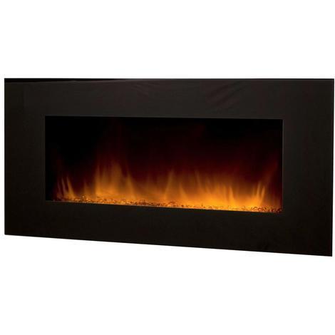 """Chimenea eléctrica XXL""""DE 122 cm. de ancho"""" con calefactor / efecto llama regulable"""