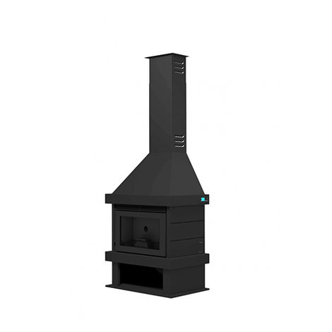 Chimenea metálica de pellets CP-170 K FM